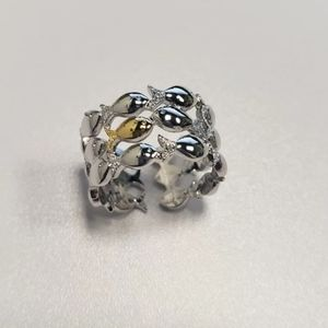 Adorable Little Fishies Adjustable Ring